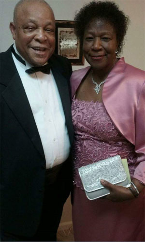 Rev. Kenneth Graham and Lay Eucharistic Minister Betty Jenkins Graham